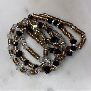 💥3/$25💥 Set of 5 Stacking Stretch Bracelets